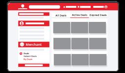 Kamu akan memiliki halaman khusus untuk bisnis yang kamu daftarkan.
